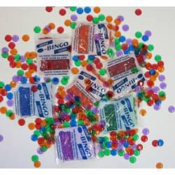 50 sachets 100 pions plastiques de loto ,jetons loto