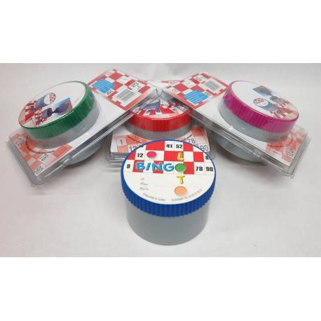 4 Boites magnétiques loto MAXIS BINGOS BOX