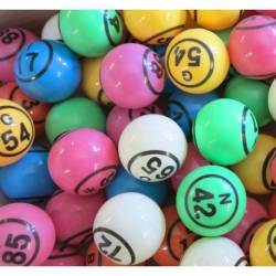 LE PACK DE 90 BALLES PING PONG MULTICOLORES NUMEROTEES